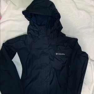 BLUE COLUMBIA WINDBREAKER JACKET